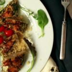 Fast Food: Knoblauch-Basilikum-Hühnchen