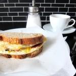 Guten Morgen! Eier-Sandwich