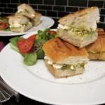 Brot & Spiele: Feta-Pesto-Sandwich