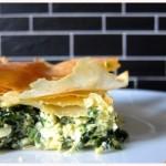 Popeye würd's schmecken: Spinat-Feta-Tarte aus Filoteig