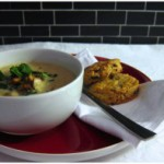 Von A bis Suppe: Cremige Schwammerlsuppe mit frischen Scones