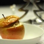 Weihnachts-Vitamine: Bratäpfel mit Marzipanfülle