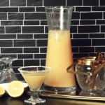 Winterrausch: Birnen-Vanille-Cocktail mit Vodka