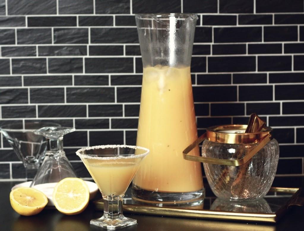 Winterrausch: Birnen-Vanille-Cocktail mit Vodka