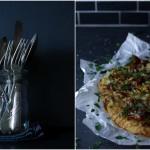 Wirsing-Pizza mit Knusperspeck