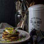 Kartoffel-Pancakes mit Ziegenkäsecreme