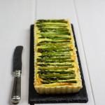 Perfekt in Form: Grüne Spargeltarte