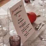 Das perfekte Blogger Dinner, Runde #1: Ein goldschwarzer Abend