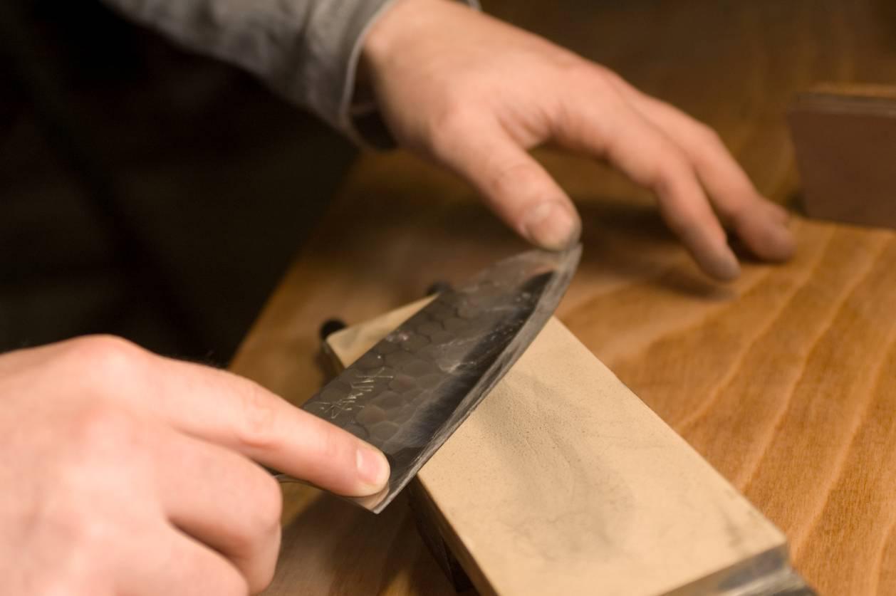 Eine Frage des Geschmacks: Wie schleife ich meine Messer richtig?