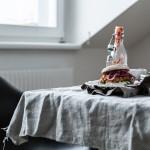Burger mit Kichererbsen und Süßkartoffeln