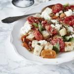 Panzanella mit gerösteten Tomaten