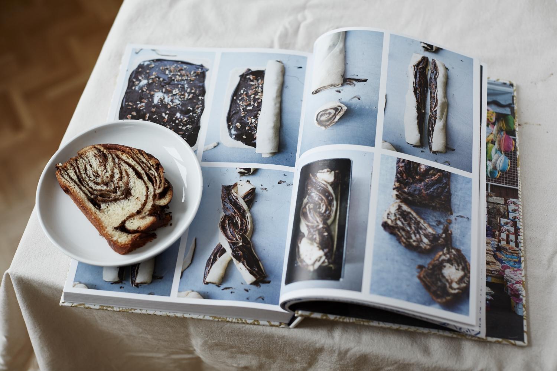 SchokoladenBabka mit Kochbuch Jerusalem von Yotam Ottolenghi 4