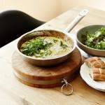 Zucchini-Frittata mit frischen Kräutern