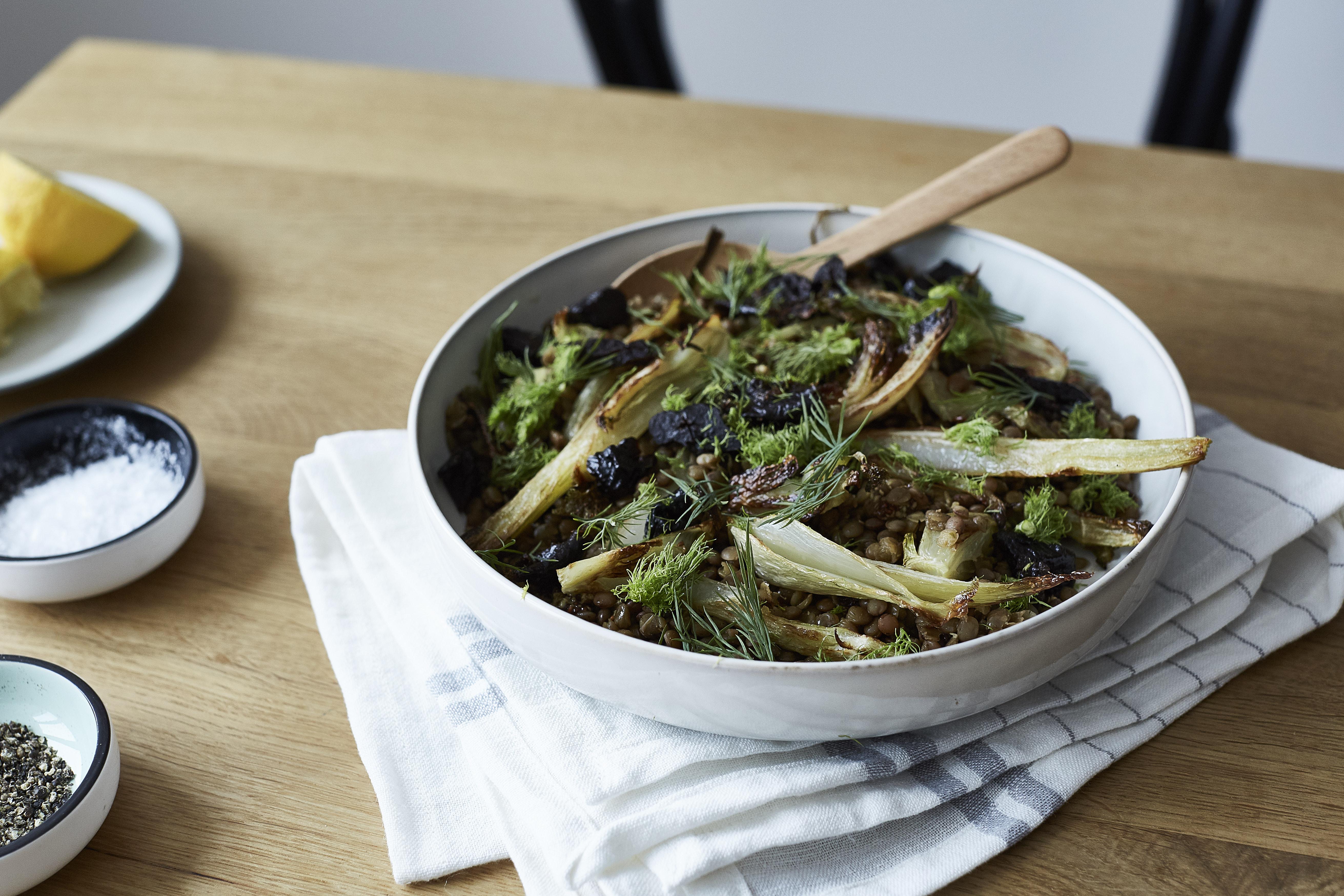 Linsen-Fenchel-Salat 2