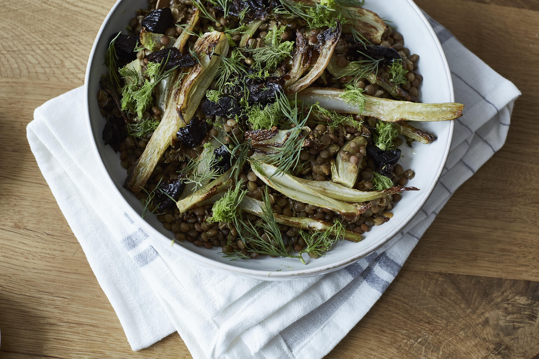 Linsen-Fenchel-Salat 3