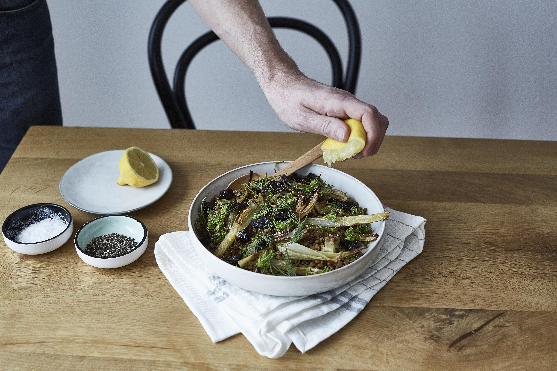 Linsen-Fenchel-Salat 4