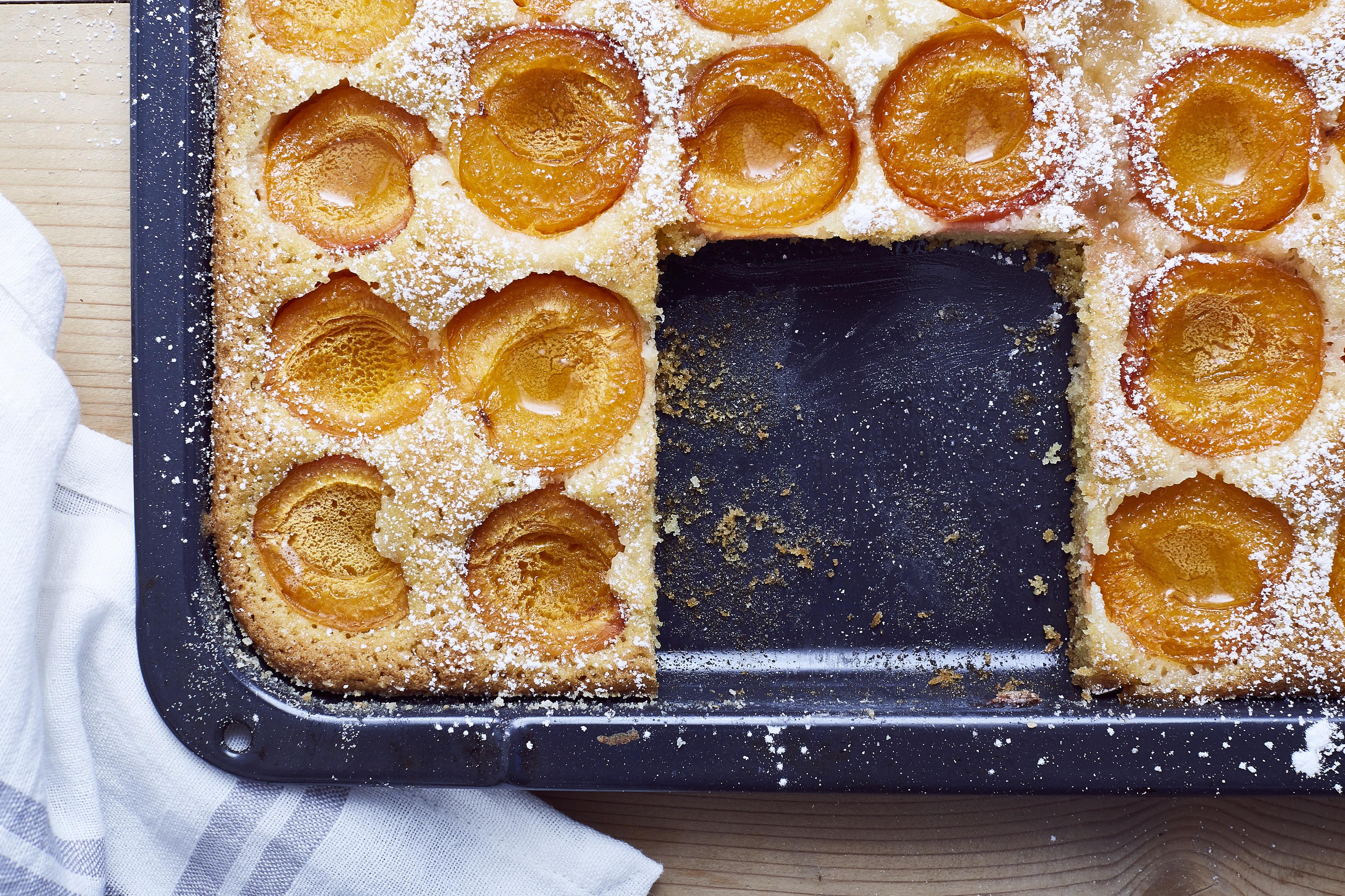 Marillenkuchen-Blechkuchen-
