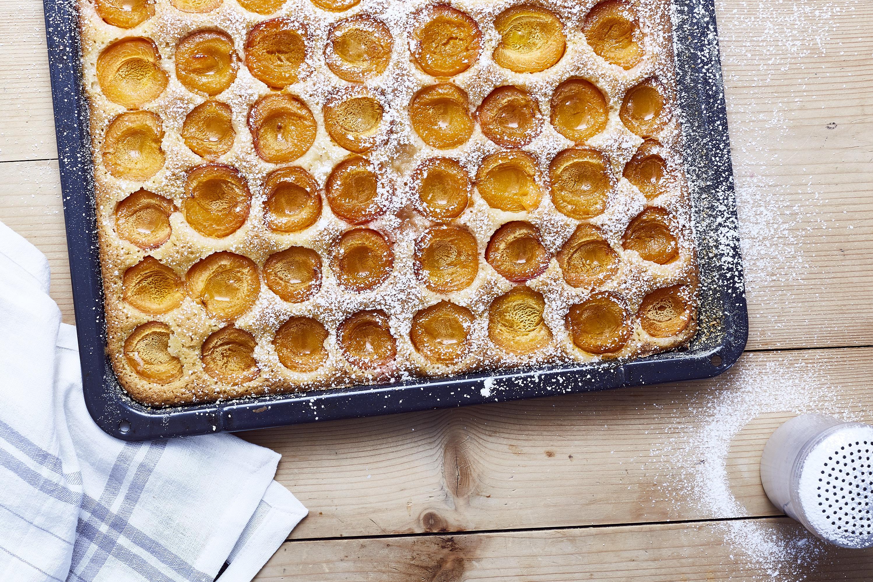 Marillenkuchen-Blechkuchen- 1