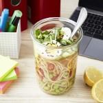 Lunch al Desko: Schnelle Asia-Suppe mit Miso und Ramennudeln