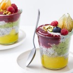 Chia-Pudding mit frischen Früchten
