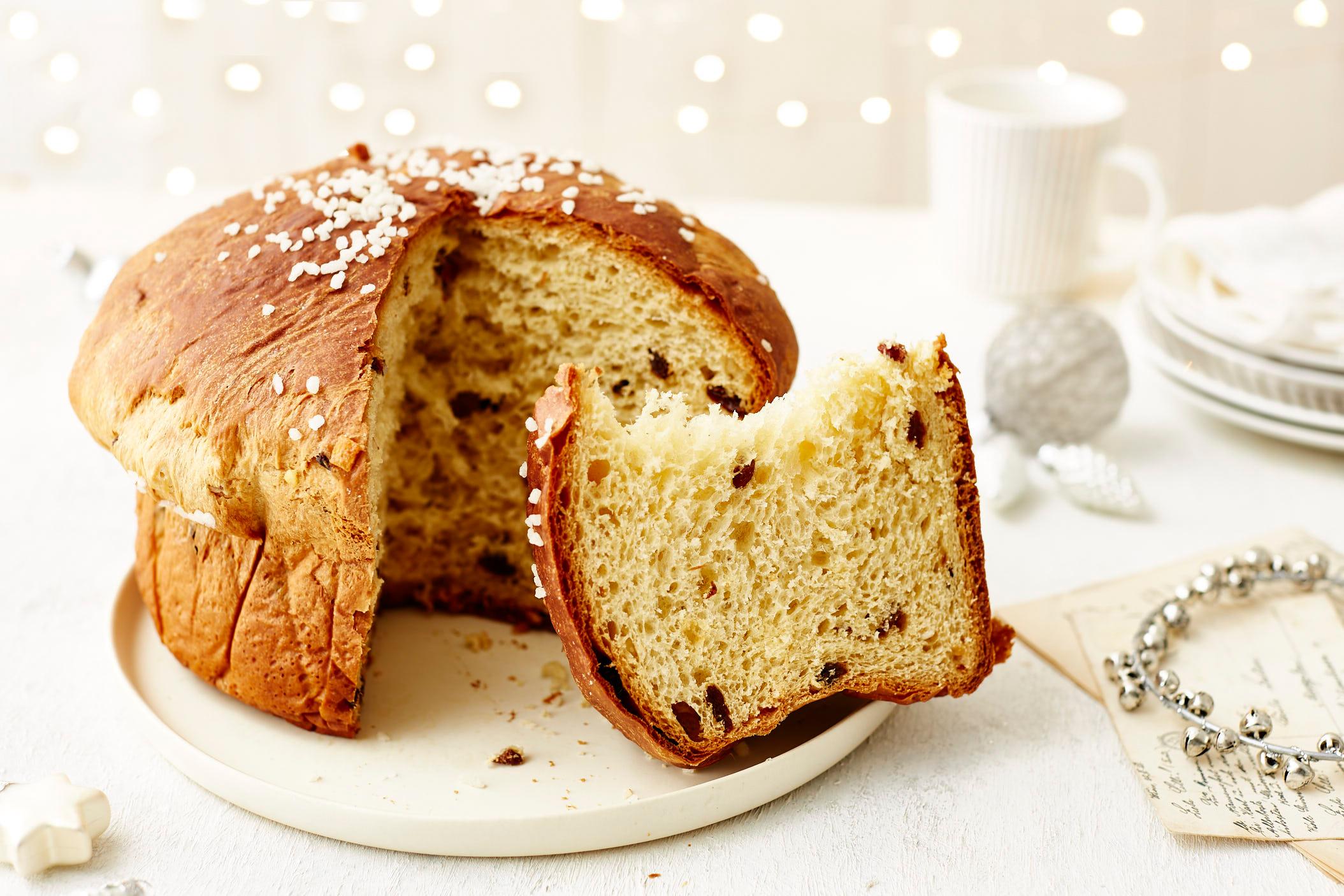 Italienischer Weihnachtskuchen: Panettone