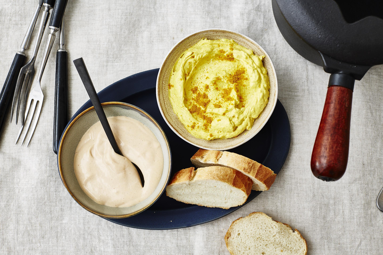 Fondue Raclette Saucen-Cocktailsauce-Mango Curry-
