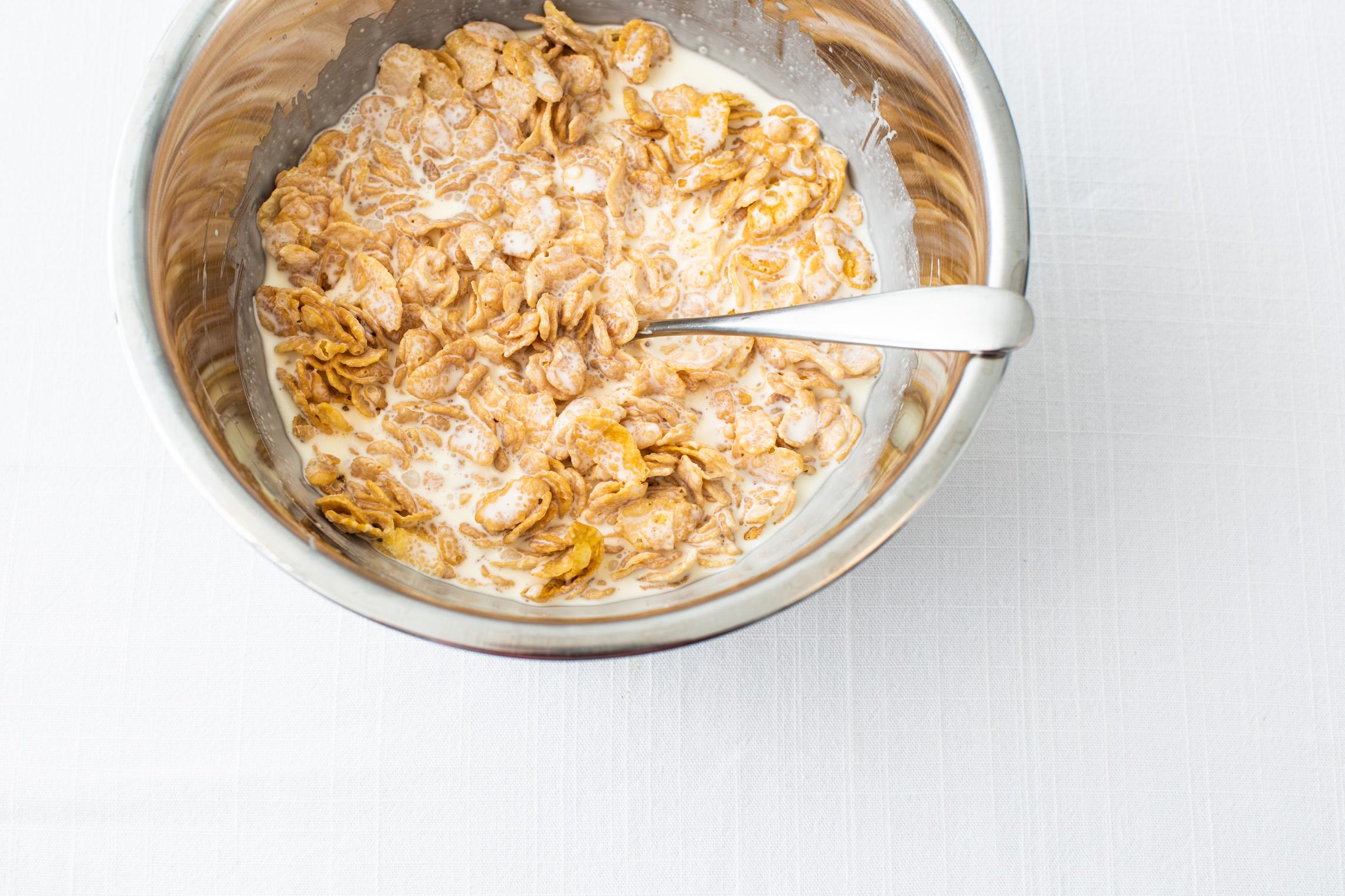 cornflakes panna cotta 2