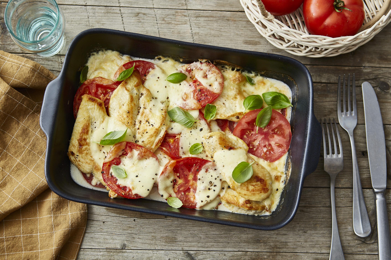 Familienküchen_Hühnchen_Tomaten_Mozzarella_