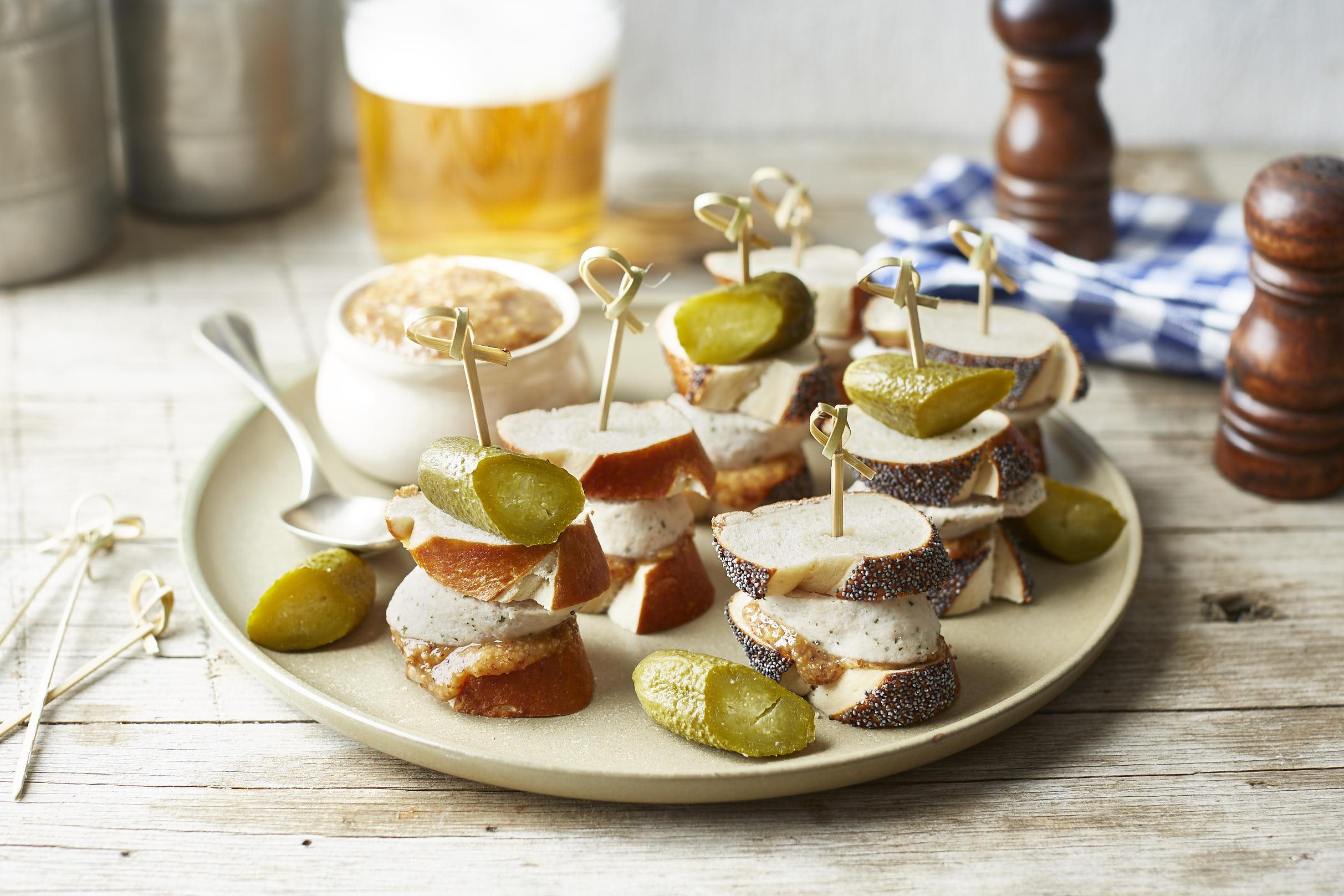 Weißwurst-Häppchen fürs eigene Oktoberfest