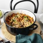 One Pot Monday #2: Überbackene Chili con Carne Pasta