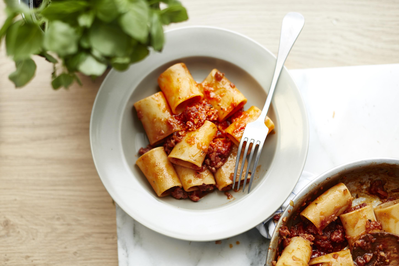 Einfache Salsiccia-Bolognese