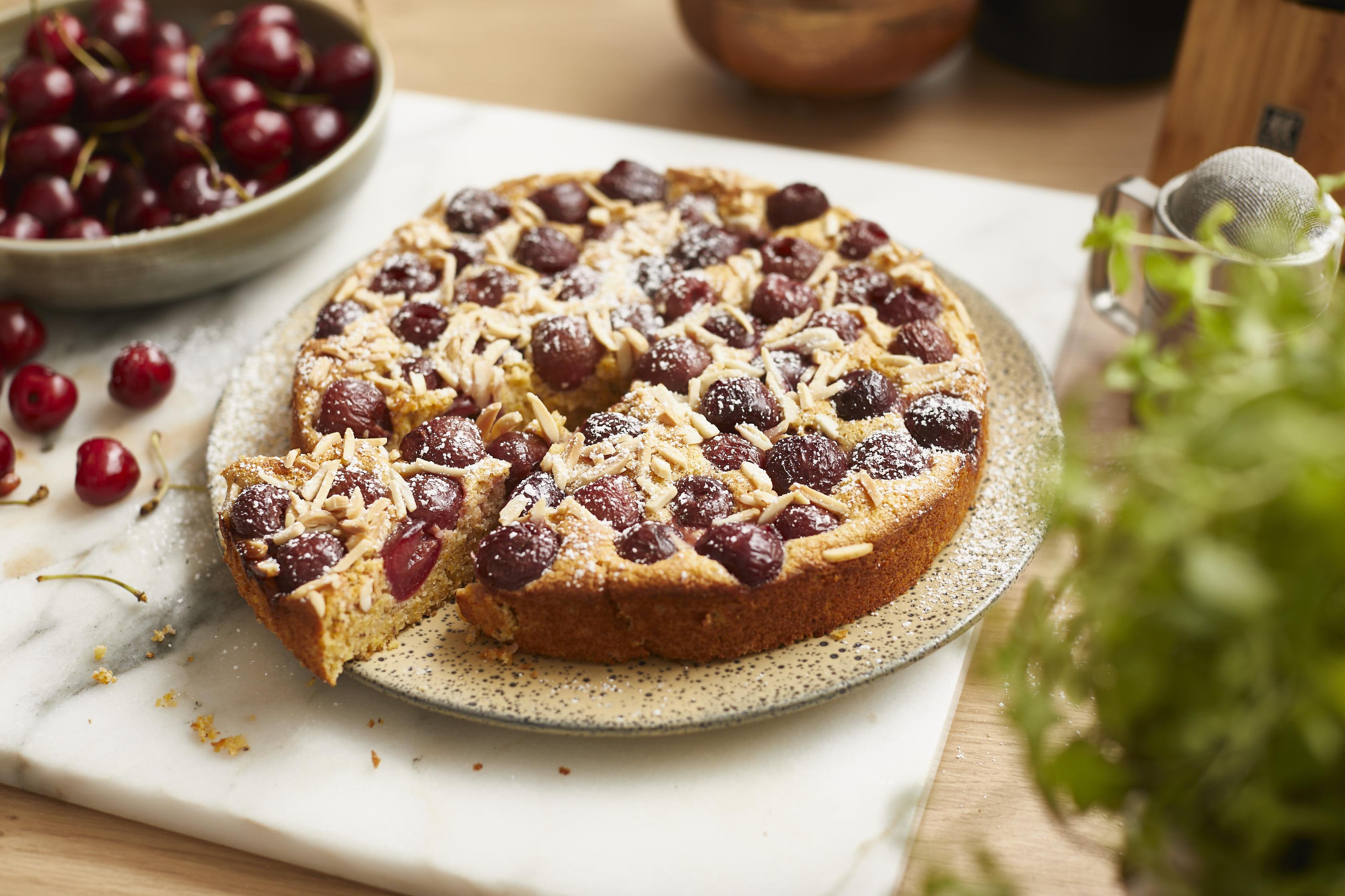 kirsch-polenta-kuchen- 1