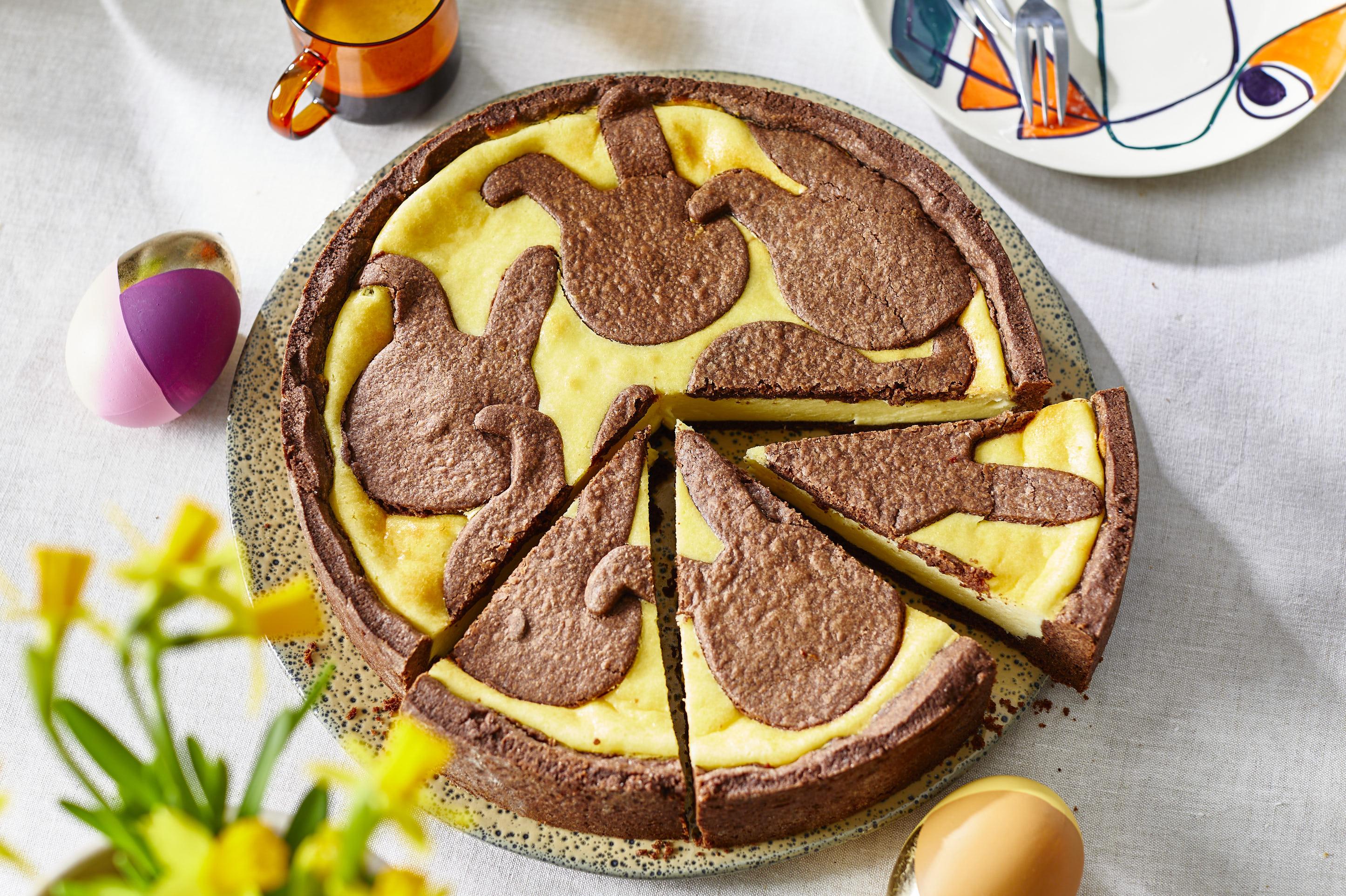 Osterhasen-Cheesecake