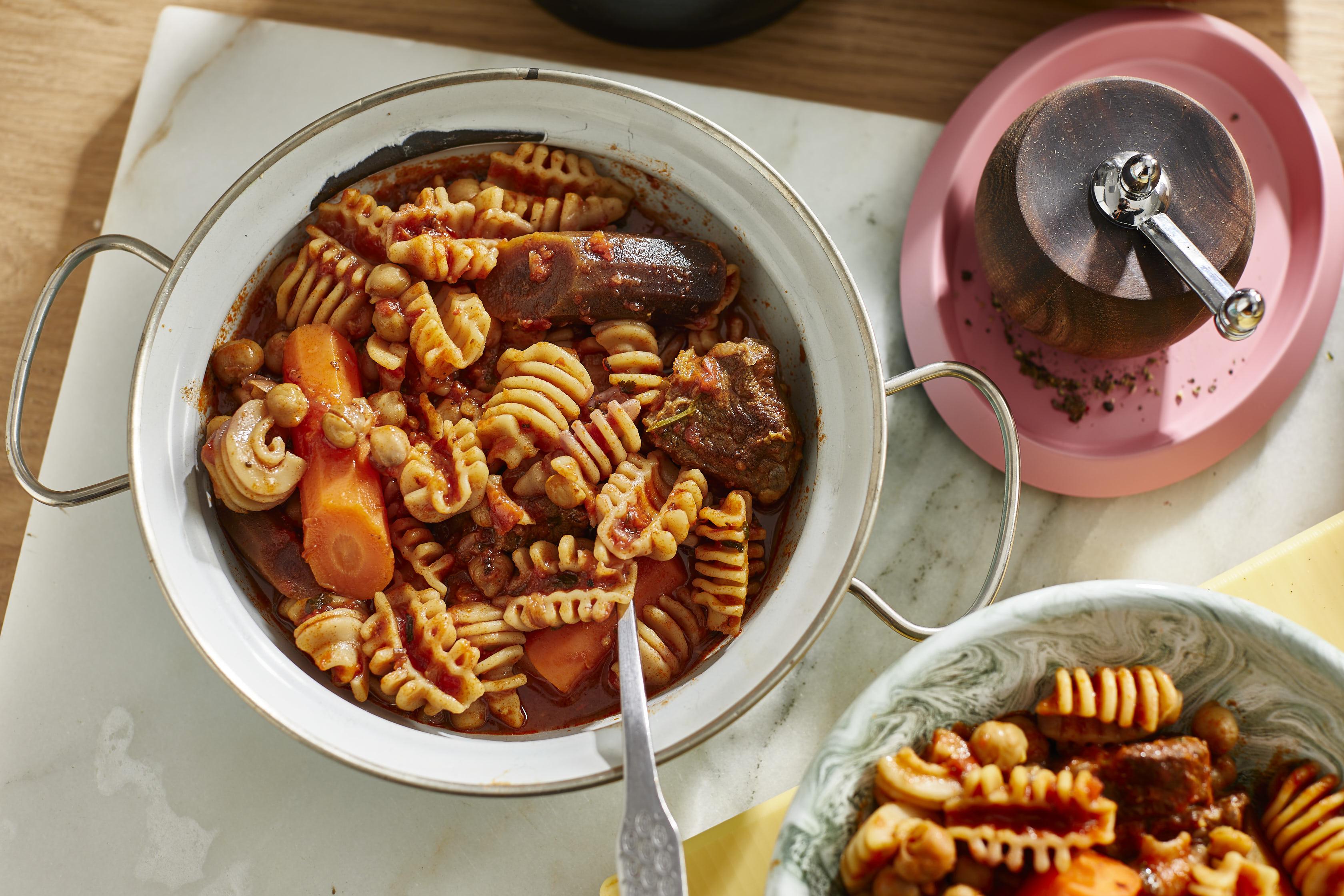 one pot pasta-pasta-kichererbsen-einfach-rezept- 2