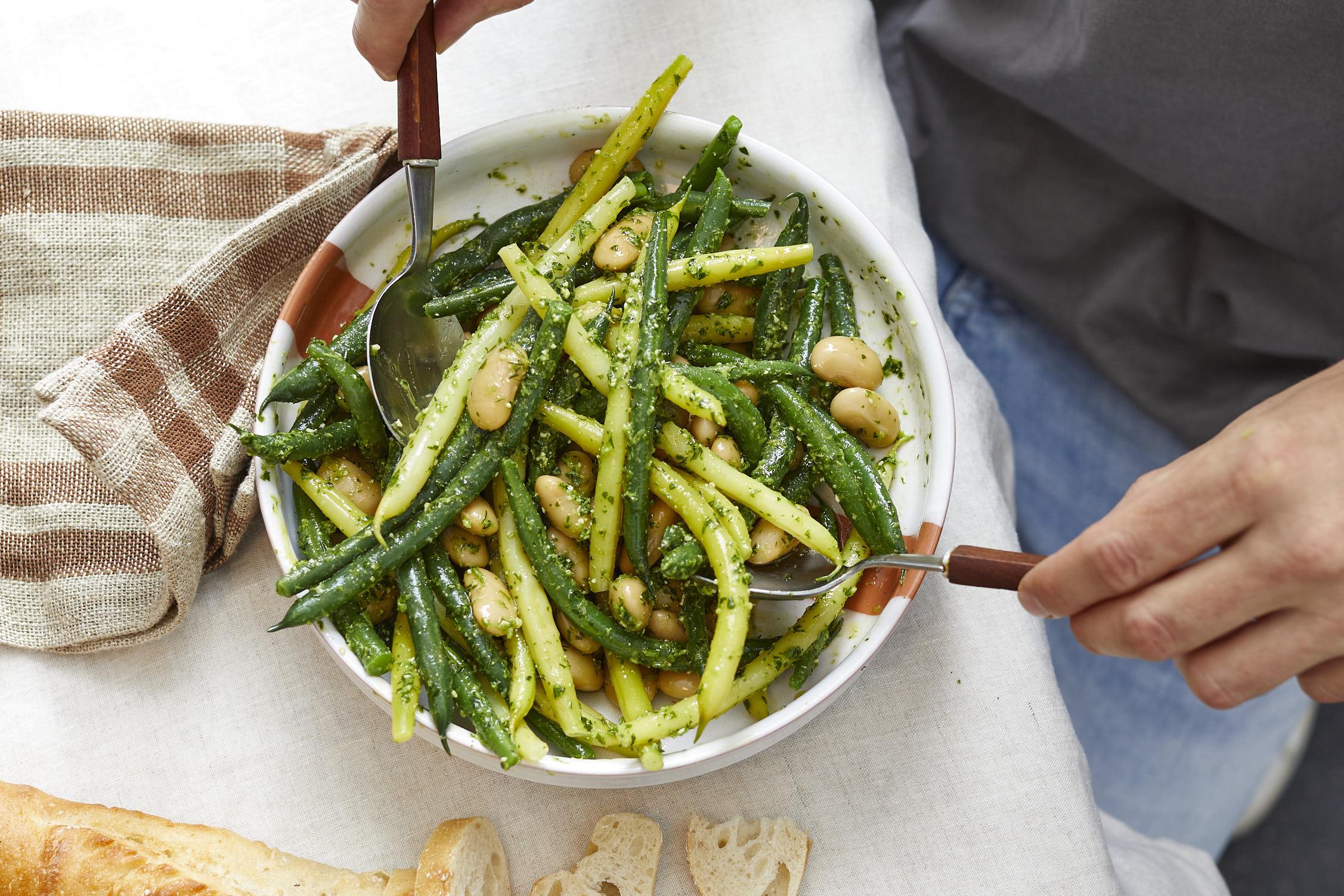 schnittbohnen-salat-kräuter-rezept- 1