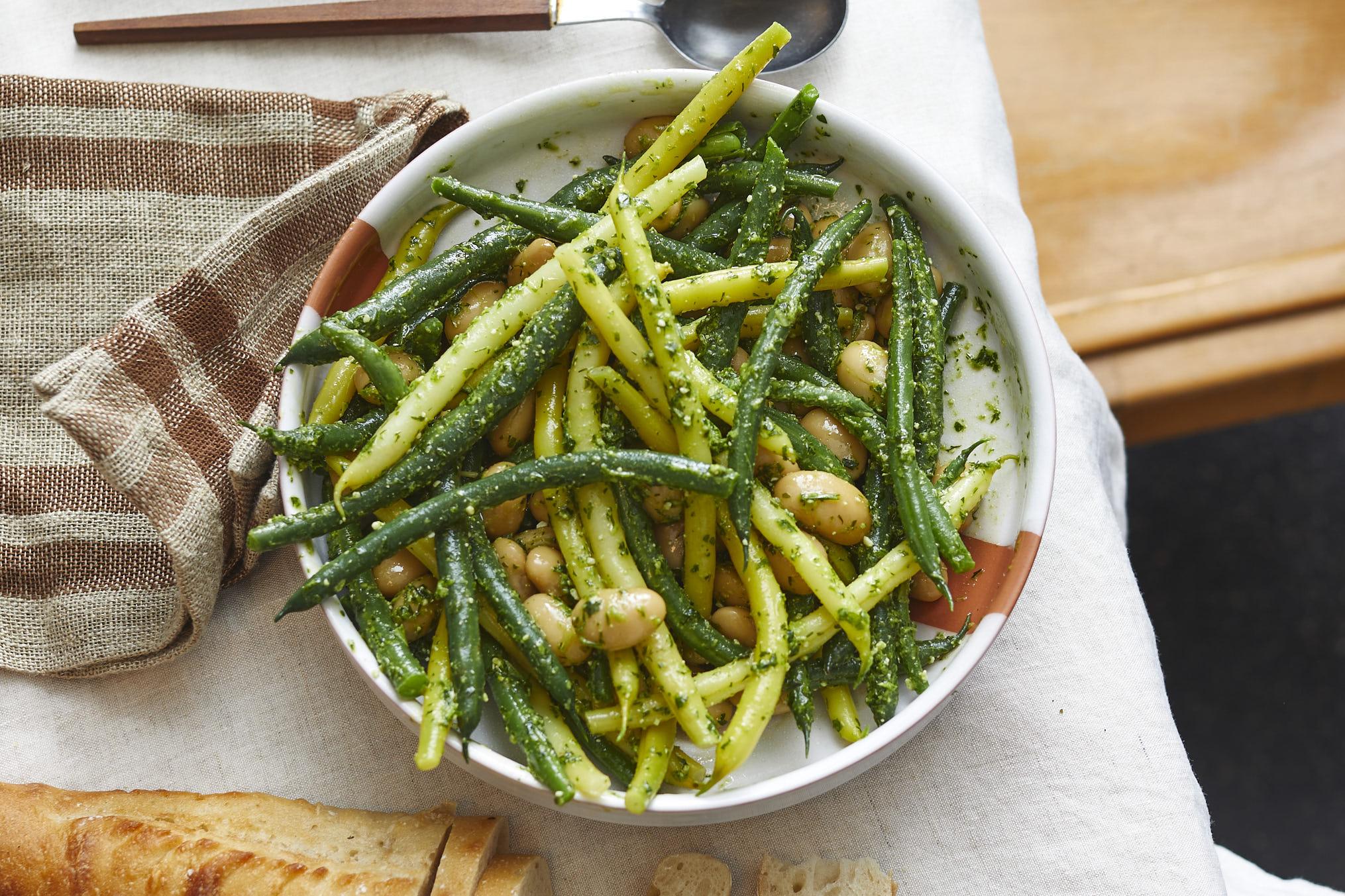 schnittbohnen-salat-kräuter-rezept- 3